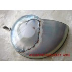 Shell Pendants Silver