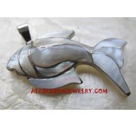 Silver Pendant Shells