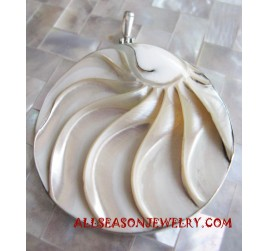 Silver Pendants Carving