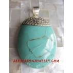 Silvers Pendants Turquoise