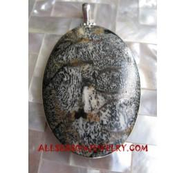 Stone Silvers Pendants
