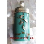 Turquoise Pendants Silver
