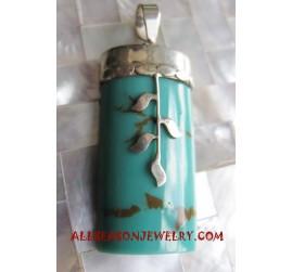 Turquoise Pendants Silver