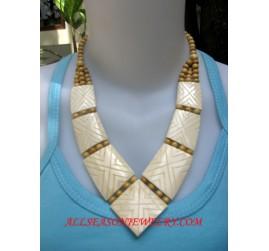 Natural Bone Necklaces