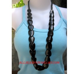 Black Bone Necklaces