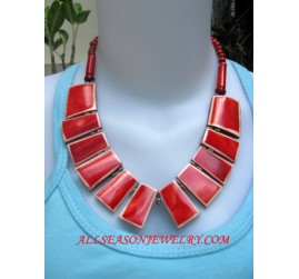 Bone Necklaces Handmade