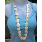 Bone Necklaces Natural