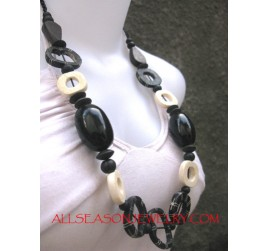 Bone Resin Necklaces