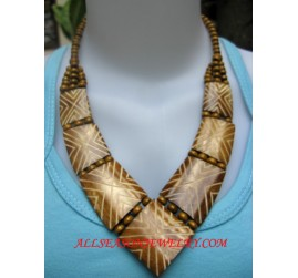 Cow Bone Necklaces