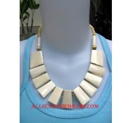 Natural Bones Necklaces