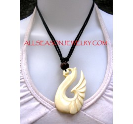 Bone Pendants Carving