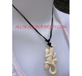 Carving Bones Pendants