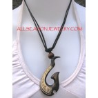 Horn Necklace Pendant