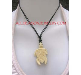 Necklace Pendant Carved