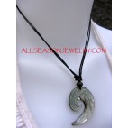 Seashell Carving Pendant