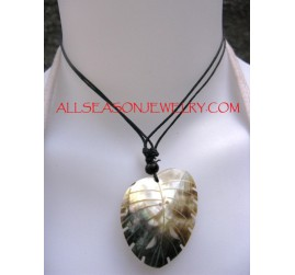 Shell Pendant Carved