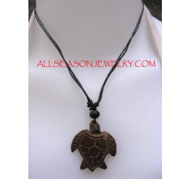 Wooden Carved Pendants