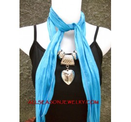 scarf necklace stainless