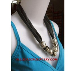 stainless scarf necklaces