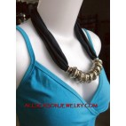 carving stainless necklaces scarf