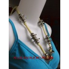 fabrics necklaces stainless