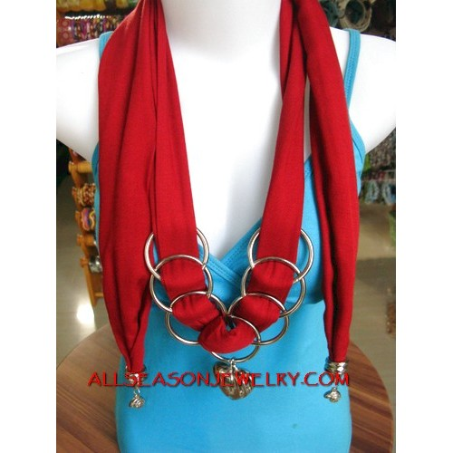 long size scarf necklace