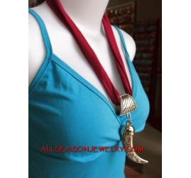 necklaces scarf stainless