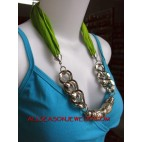 necklace scarves handmade