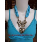 short scarf necklace