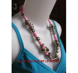 stainless fabrics necklaces