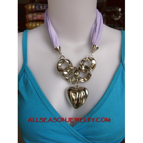 stainless necklace short