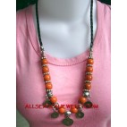 Acrylic Beads Necklaces