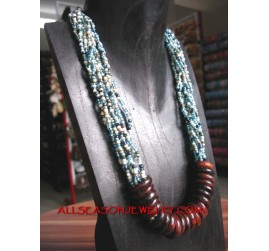 Bali Necklaces Beads