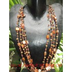 Multi Seeds Beads Necklaces