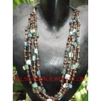 Multi Strands Seed Necklaces