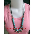 Necklaces Acrylic Bead Charm
