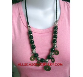 Stone Necklaces Beads