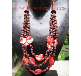 Triangle Seeds Bead Necklace