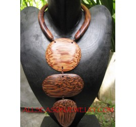 Coco Wooden Necklaces