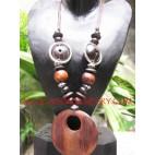 Wooden Necklaces Pendants