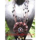 Leather Necklaces Pendant