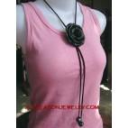 Flower Pendant necklaces
