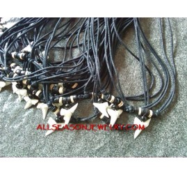 Shark Tooth Pendant Neck