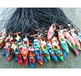 Surf Board Necklaces Men's