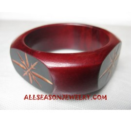 Bangle Wood Carving