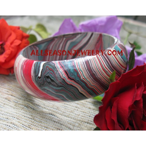 Bangle Wood Painting