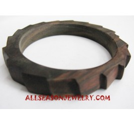 Bangle Wooden Carving