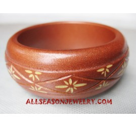 Bangle Wooden Carvings
