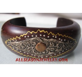 Bangle Wooden Handpaintings