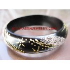 Bangle Wooden Painted